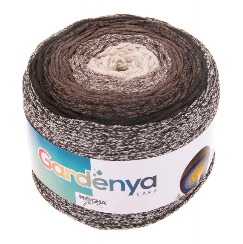 Gardenya Cake - 009 Mocha Yarn