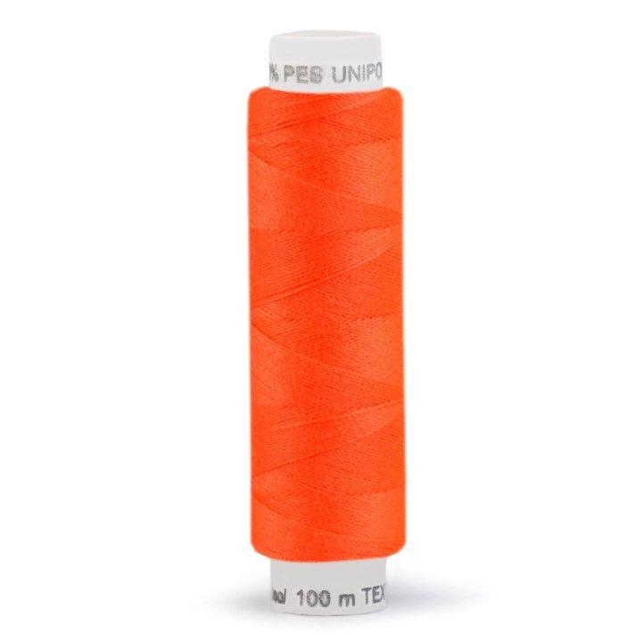 Niť UNIPOLY 100m - reflexní oranž Hagal