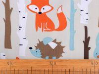 Bavlněná látka - lišky v lese ???