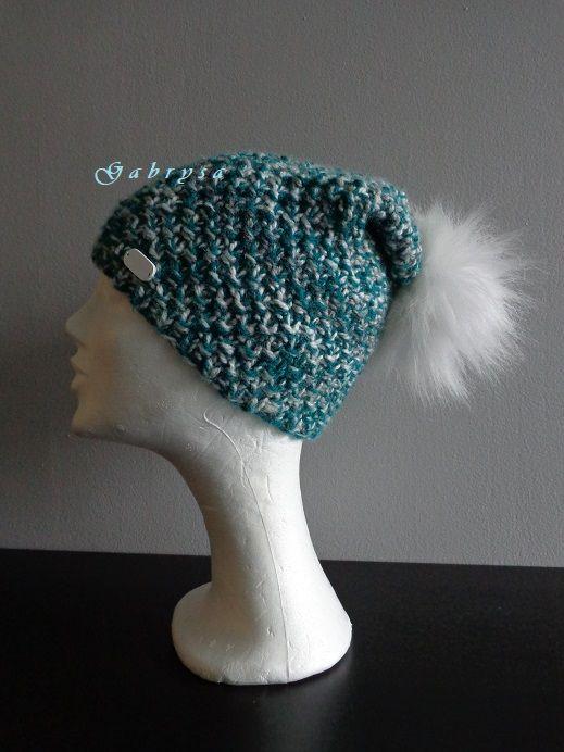 Dámská pletená čepice Gabrysa