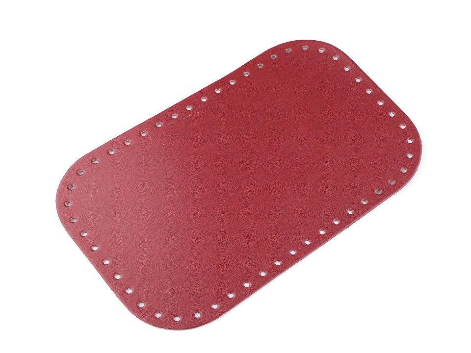 Dno na kabelku 18x28 cm - červené Itálie