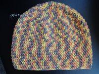 Dětská háčkovaná čepice