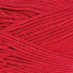 Příze Gina Plus / Jeans Plus - červená YarnArt