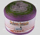Duhová fantazie - fialová