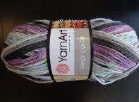 Příze Crazy Color - barevná 165 YarnArt