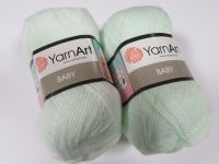 Příze Baby - světlounce zelená YarnArt