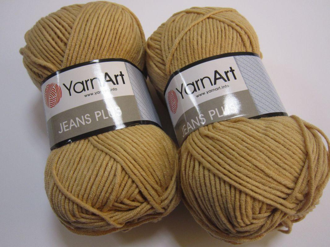 Příze Gina Plus / Jeans Plus - písková YarnArt