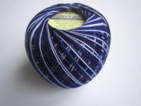 Příze Lily Melange - tmavě modrá