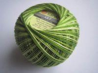 Příze Lily Melange - zelená