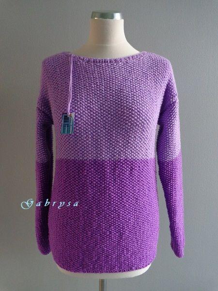 Dámský pletený svetr ( S/M ) Gabrysa