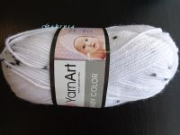 Dětská háčkovaná čepice - bílá s černým Gabrysa
