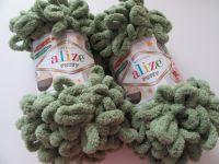 Puffy - khaki zelená