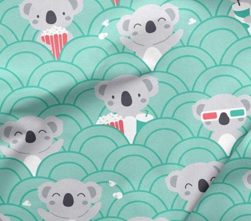 Bavlněná látka - medvídek Koala ???