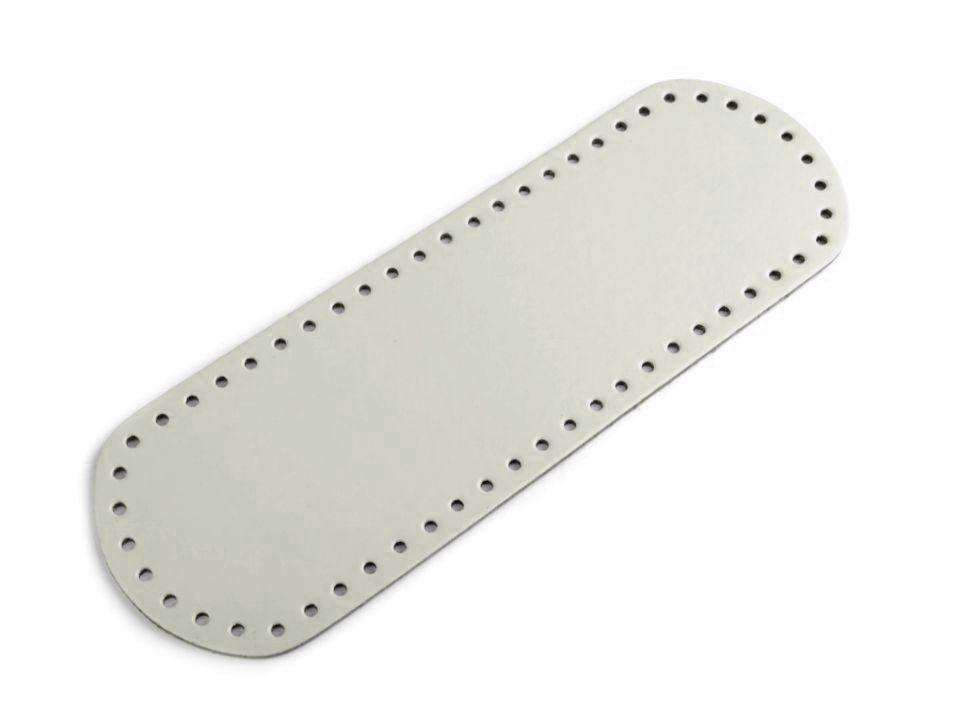Dno na kabelku 10x30 cm - světlounce šedé Itálie