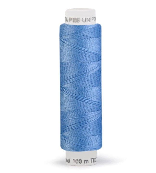 Niť UNIPOLY 100m - blankytná modř Hagal