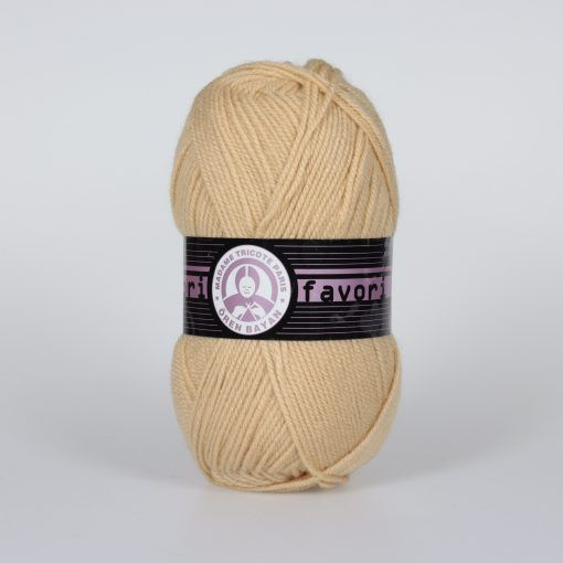 Příze Favori - béžová Madame Tricote Paris