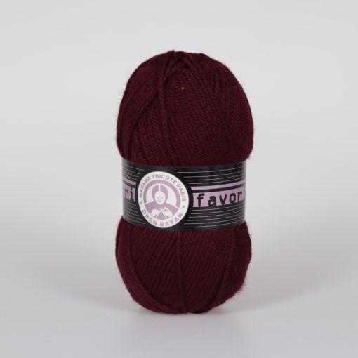 Příze Favori - bordó Madame Tricote Paris