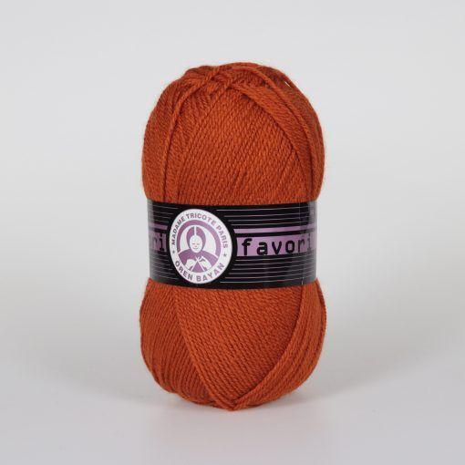 Příze Favori - rezavá Madame Tricote Paris