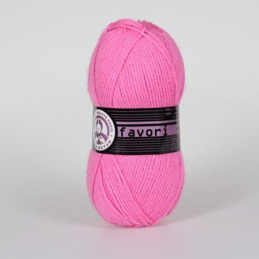 Příze Favori - růžová Madame Tricote Paris