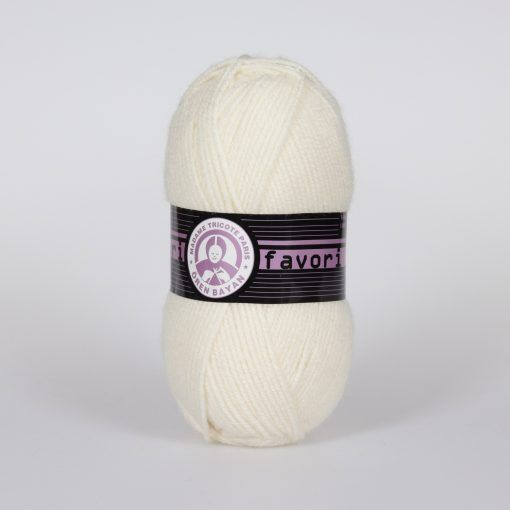 Příze Favori - smetanová Madame Tricote Paris
