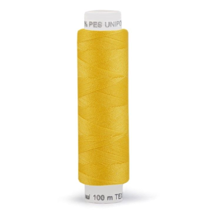 Niť UNIPOLY 100m - kanárkově žlutá Hagal
