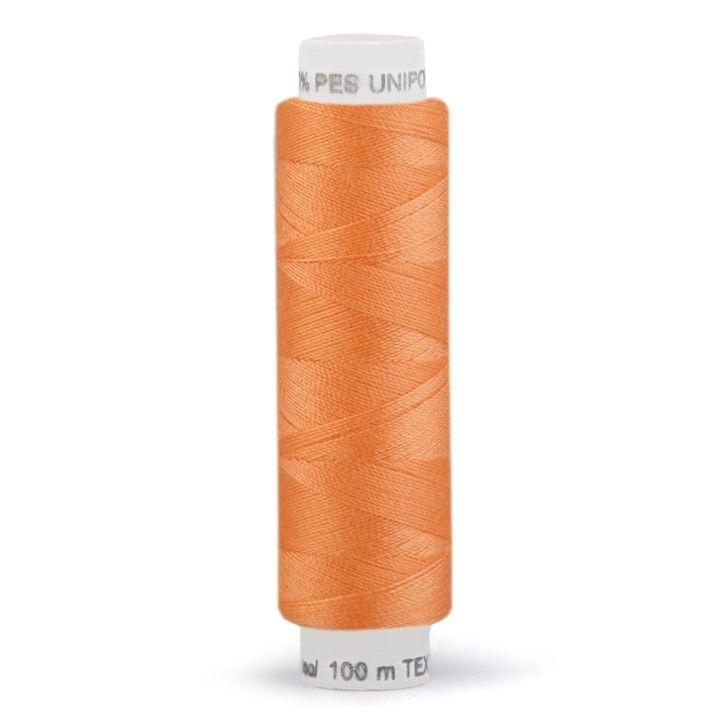 Niť UNIPOLY 100m - světle oranžová Hagal