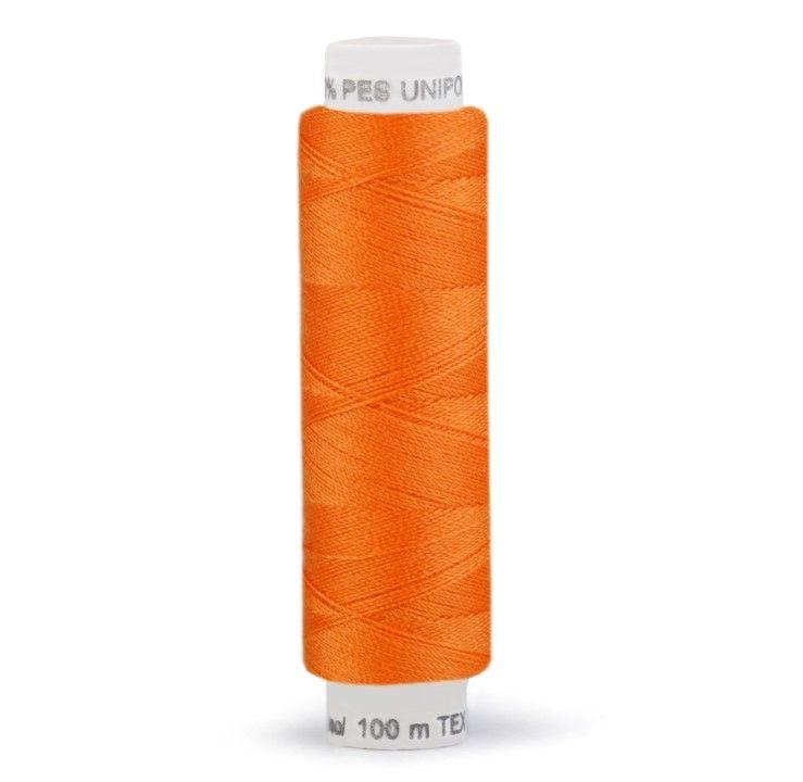 Niť UNIPOLY 100m - tmavě oranžová Hagal