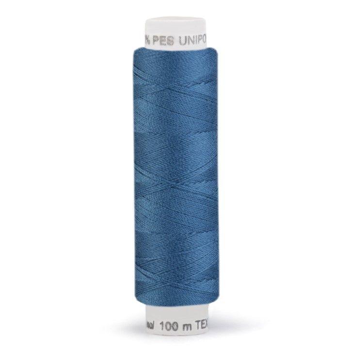Niť UNIPOLY 100m - uhlová modř Hagal