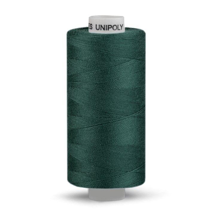 Niť UNIPOLY 500m - temně zelená Hagal