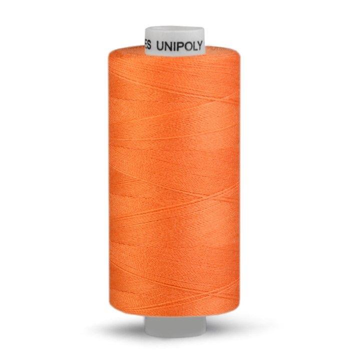 Niť UNIPOLY 500m - tmavě oranžová Hagal