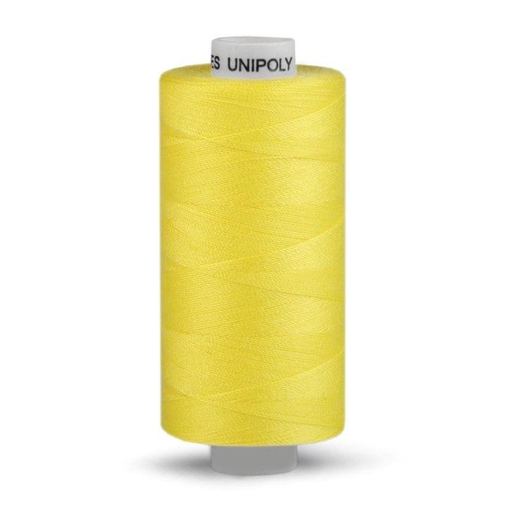 Niť UNIPOLY 500m - žlutá Hagal