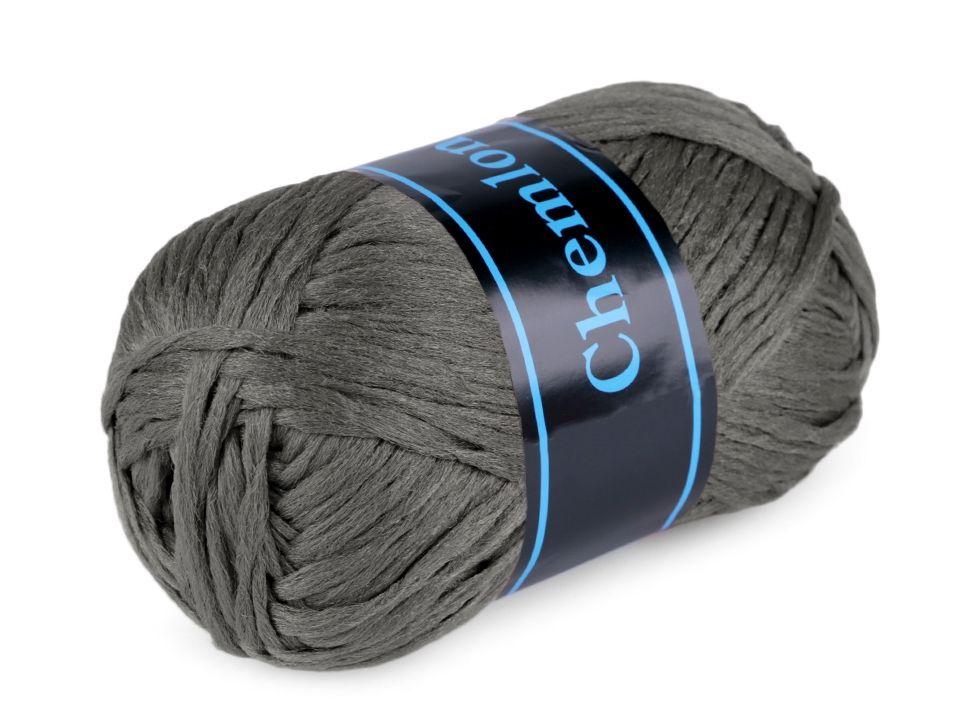 Příze Chemlonka - tmavě šedá Ariadne
