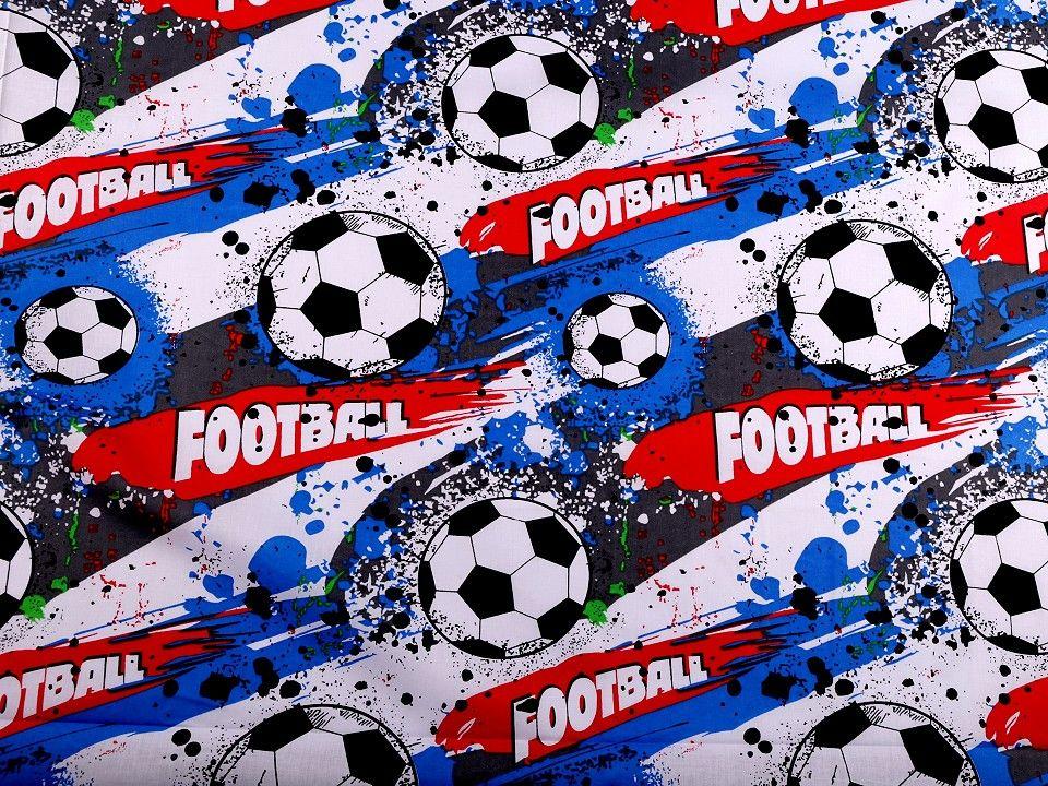 Bavlněná látka - fotbal EU