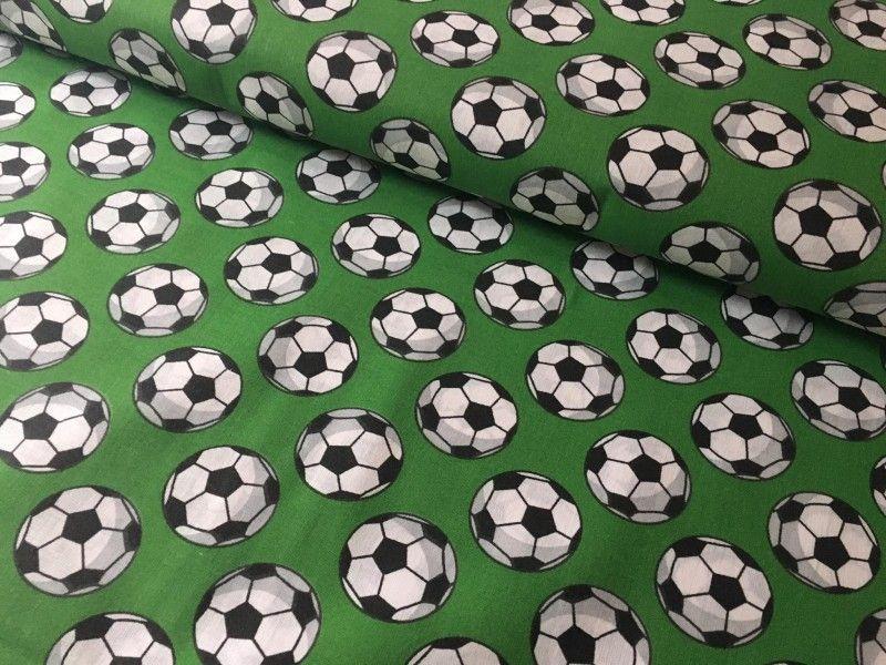 Bavlněná látka - fotbalové míče ???