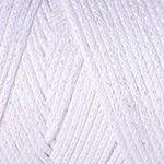 Macrame Cotton Lurex - bílá