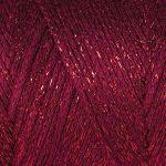 Macrame Cotton Lurex - vínová