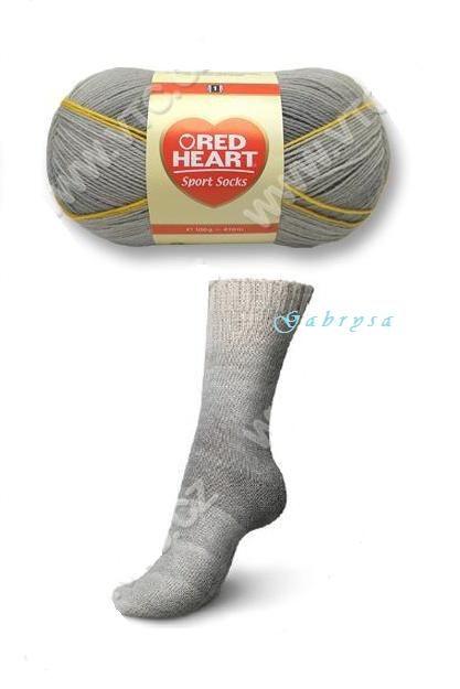 Ponožková příze - antracitová Red Heart