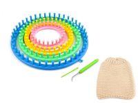 Sada na pletení tunelů, šál, čepic