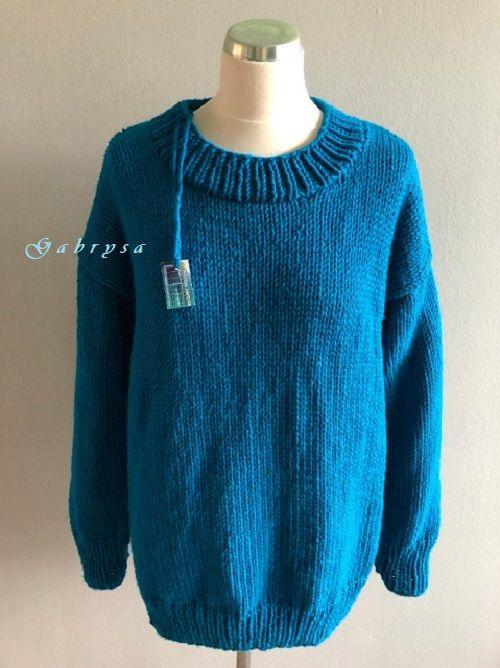 Dámský pletený svetr ( S/L ) Gabrysa