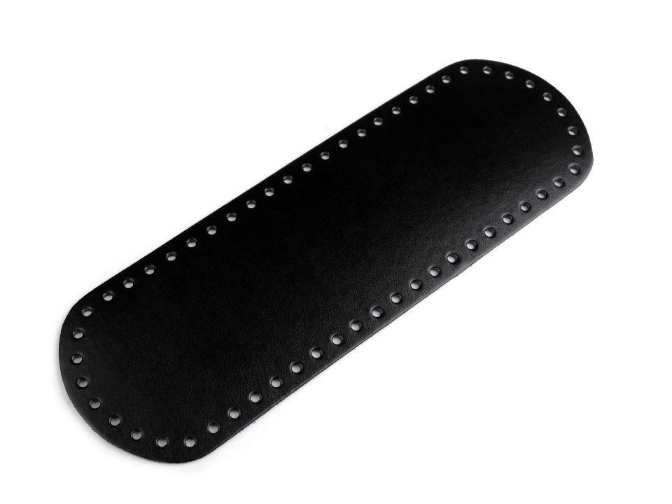 Dno na kabelku 10x30 cm - černé Itálie
