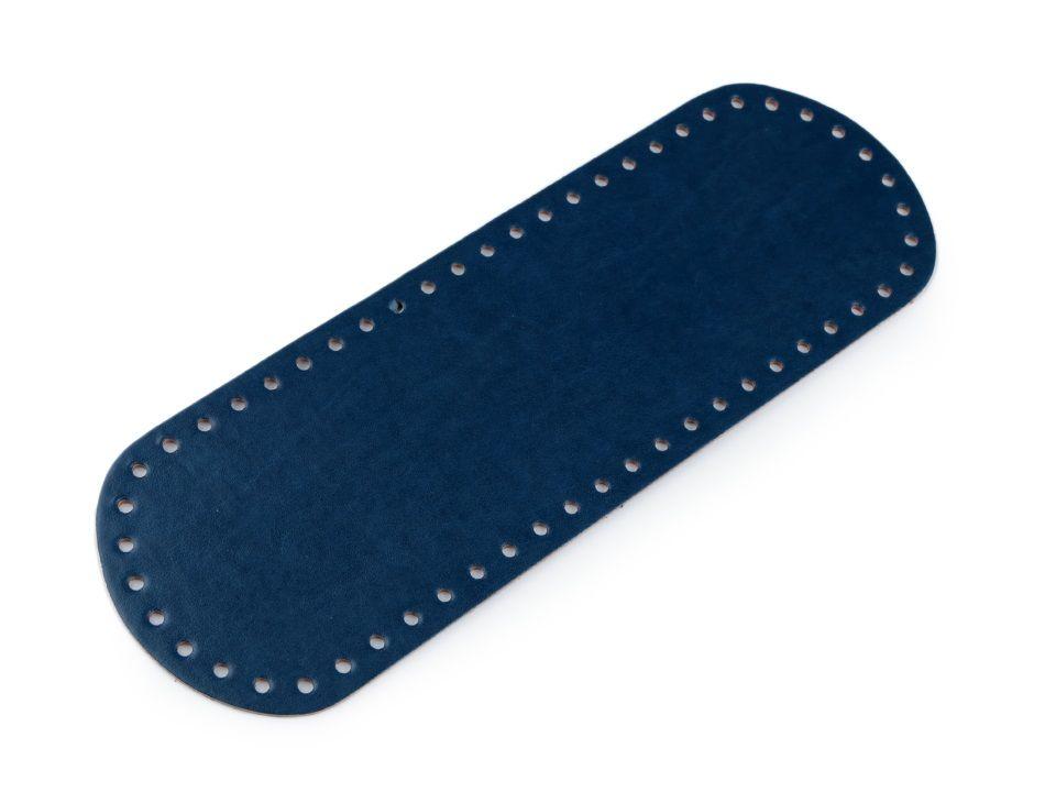 Dno na kabelku 10x30 cm - tmavě modré Itálie