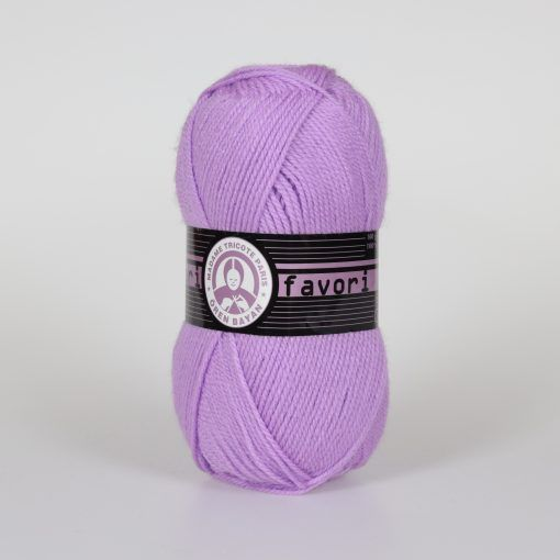 Příze Favori - světle fialová Madame Tricote Paris