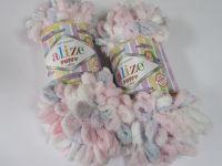 Puffy color - růžová